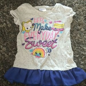 Other - Girls Shopkins shirt